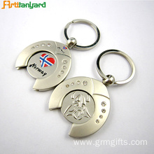 Custom Trollry Coin Keychains With Logo